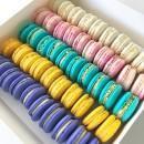 Assorted Macarons Box (50 pcs)