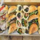 Mixed gourmet rolls & wraps