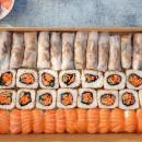 Sushi & Rice Paper Roll Box  (64 pcs)