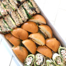 Assorted sandwiches & wraps