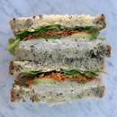 Gluten Free Sandwich with Gourmet filling (1pp)