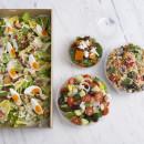 Roasted Pumpkin & Spinach Salad