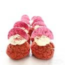 Raspberry Mini Choux Pastry