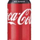 Coca Cola NO SUGAR 24 x 375ml Cans
