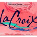 La Croix – Case of 12 cans Cranberry Raspberry Flavour