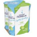 Mt Franklin Lightly Sparkling Lime 24 x 250ml CANS