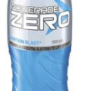 Powerade ZERO Mountain Blast Flow Cap 600ml x 12