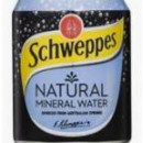 Schweppes Natural Mineral Water 24x250ml Cans