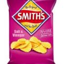 Smiths Crinkle Salt & Vinegar Chips 170g
