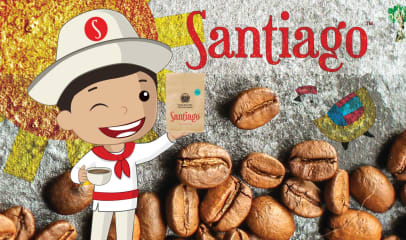Santiago, Smooth & Tasty Coffee