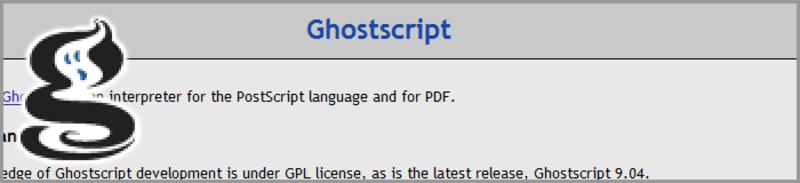 GhostscriptでのPDF変換について