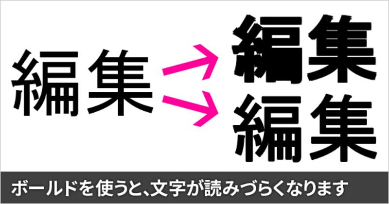 WordやPowerPointなどで、太字(ボールド)を使用して印刷すると文字が潰れる