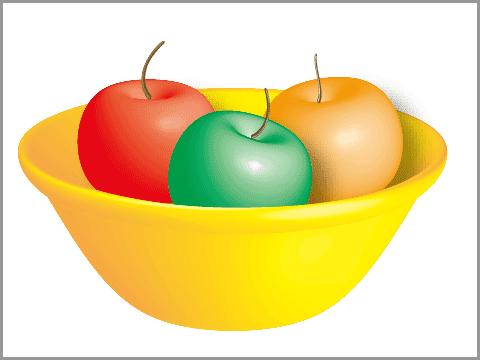 Illustratorの3D機能(回転体)(1)