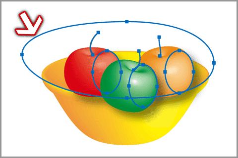 Illustratorの3D機能(回転体)(18)