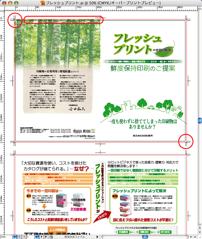 Illustrator CS4からIllustrator形式で保存(4)