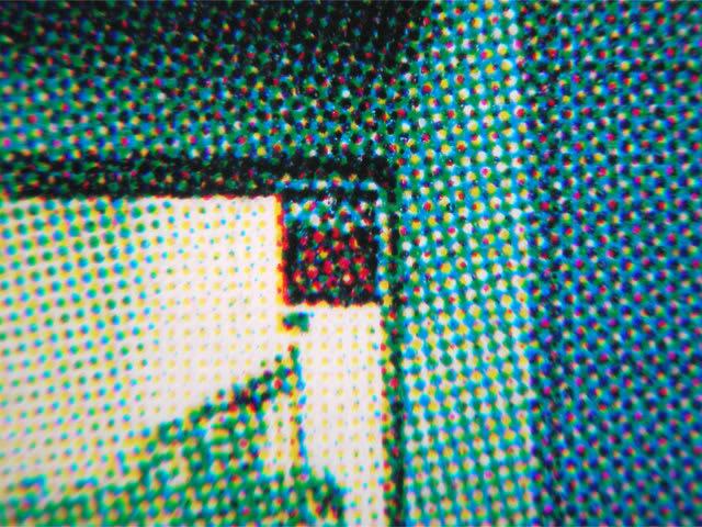 網点をルーペで覗く(3)