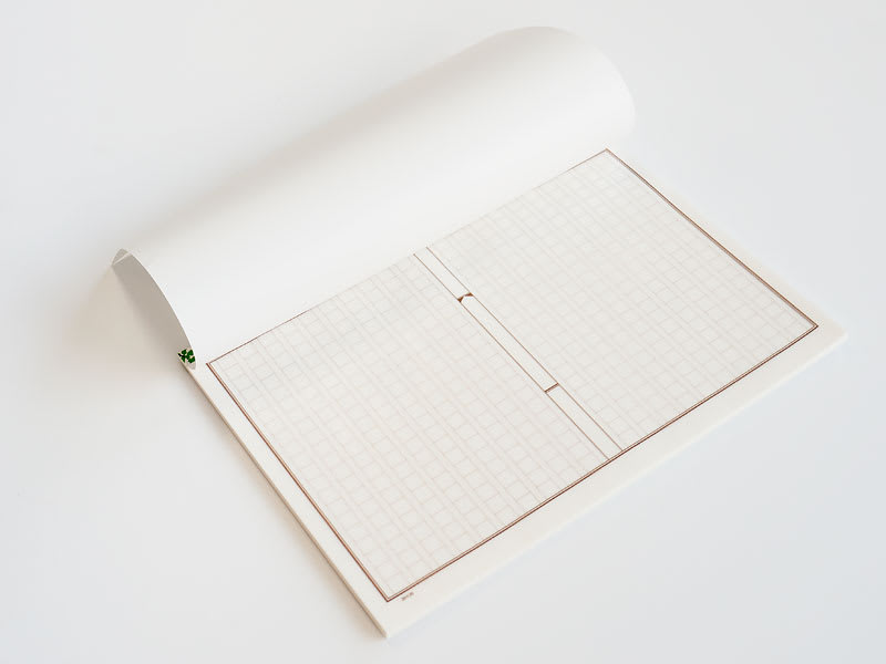 グラシン原稿用紙柄