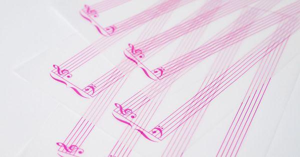 グラシン ミニ楽譜