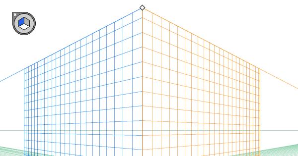 Illustratorの遠近グリッドを消す方法