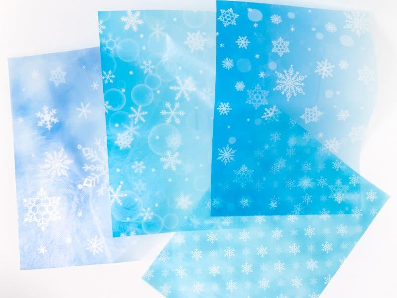 グラシンペーパー 雪の結晶