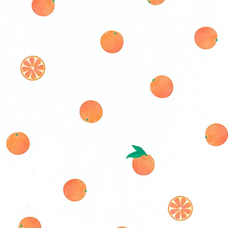 グラシンデザインペーパー オレンジ柄