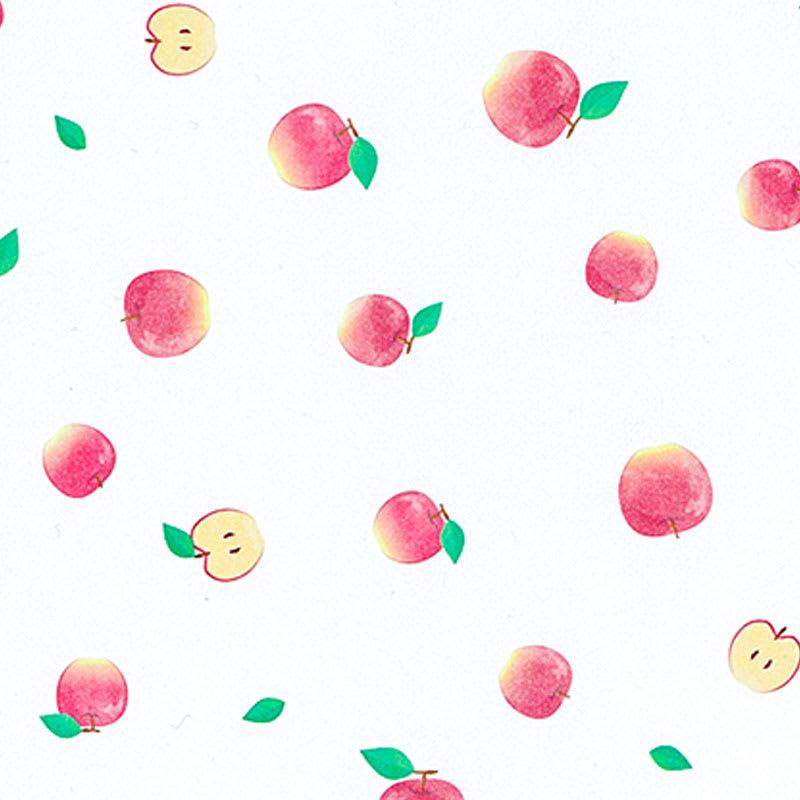 グラシンデザインペーパー りんご柄