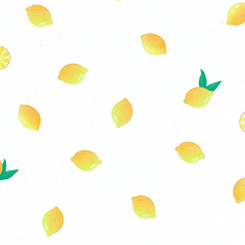 グラシンデザインペーパー レモン柄