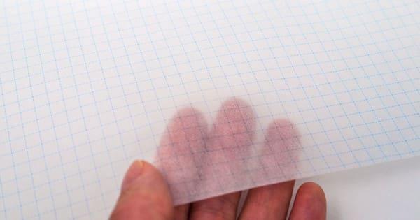 グラシン紙 A4方眼紙柄 / A4サイズ