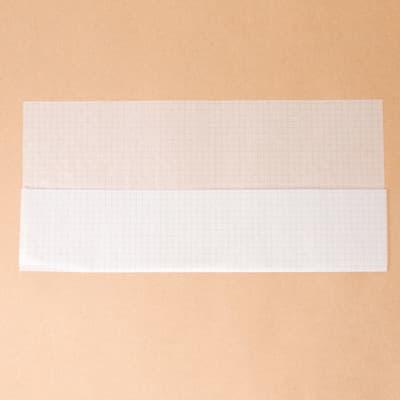 グラシン紙で薬の分包紙風ラッピング - step1