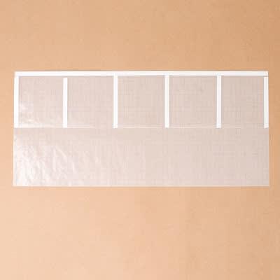 グラシン紙で薬の分包紙風ラッピング - step2