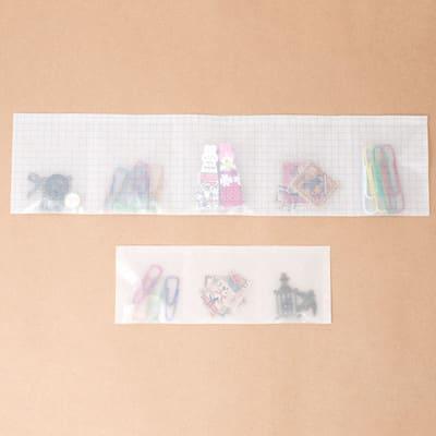 グラシン紙で薬の分包紙風ラッピング - step6