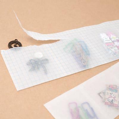 グラシン紙で薬の分包紙風ラッピング - step7