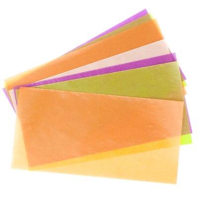 グラシン紙でほんのり透ける三角パック - step1