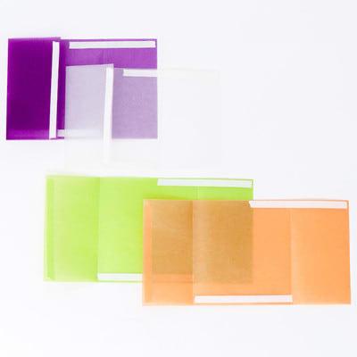 グラシン紙でほんのり透ける三角パック - step3
