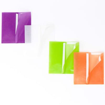 グラシン紙でほんのり透ける三角パック - step4