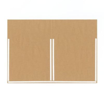グラシン紙とクラフト紙の封筒ラッピング - step2