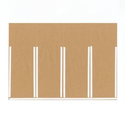 グラシン紙とクラフト紙の封筒ラッピング - step5