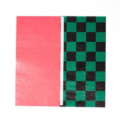 和柄グラシン紙のツートーン封筒 - step4