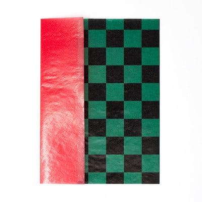 和柄グラシン紙のツートーン封筒 - step5