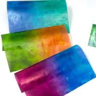カラーグラシン 二色しぼり / 150×150mm