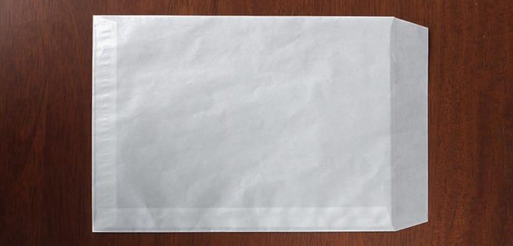 薄紙への加工:貼り