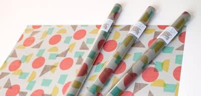 色柄グラシンペーパー / 包装紙 / 吉田印刷所