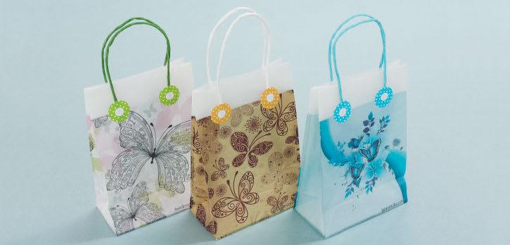 ミニチュア手提げ袋 / 紙袋 / 吉田印刷所