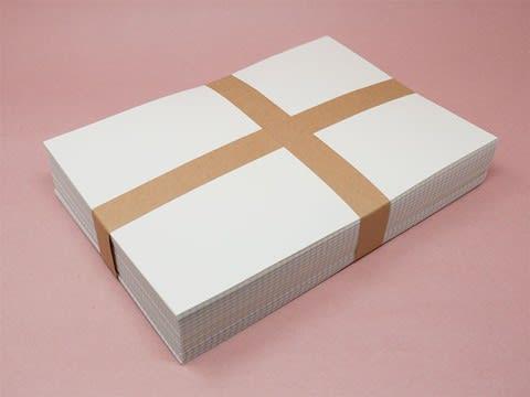 写真:帯封・帯掛け・帯留め(十字状)