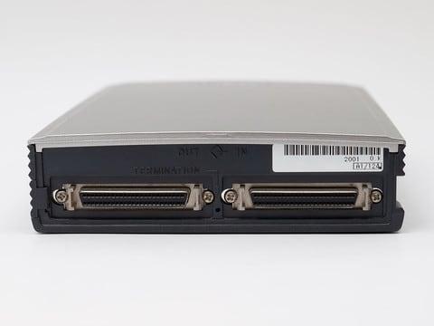 MOディスクドライブ(オリンパス 1.3GB対応)背面