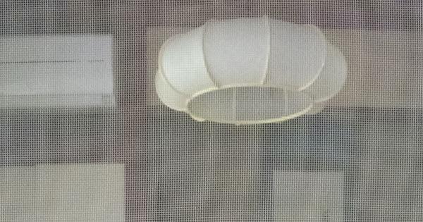 縮小表示した網戸のある和室の画像(一部)