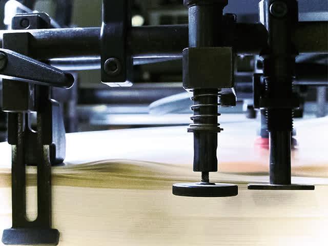 高い印刷技術がムダを削ぎ落す