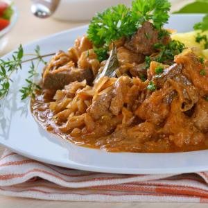 Fitness Mahlzeiten bestellen - Szegediner Gulasch