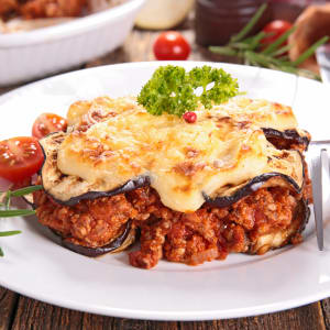 prep my meal - Moussaka