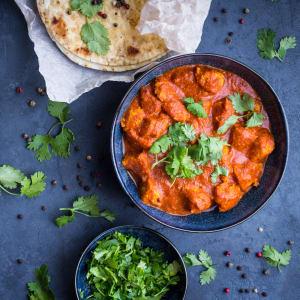 meal prep bestellen - Tandoori Chicken mit Spinat-Linsen